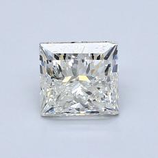 1.00-Carat Princess Diamond Very Good J VS2