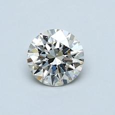0,60 Carat Rond Diamond Idéale K SI1
