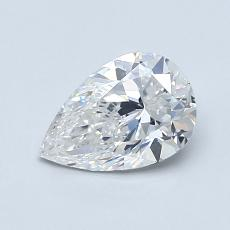 Recommended Stone #3: 0.81-Carat Pear Shaped