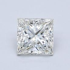 1.01 Carat Princesa Diamond Muy buena H VVS1