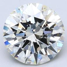 Recommended Stone #1: 4.05-Carat Round Cut