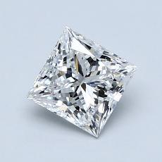 オススメの石No.4:1.01カラットプリンセスカットダイヤモンド