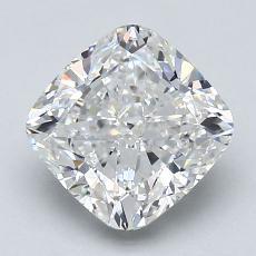 Pierre recommandée n°1: Diamant taille coussin 2,05 carats