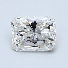 1.00-Carat Radiant Diamond Very Good G VS1
