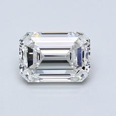 1.01 Carat 绿宝石 Diamond 非常好 E IF