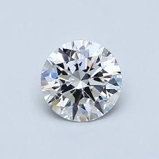 Pierre recommandée n°4: Diamant taille ronde 0,62 carat