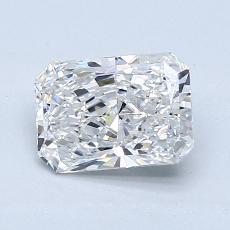 1.20-Carat Radiant Diamond Very Good F VVS2