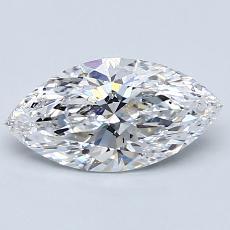 推薦鑽石 #4: 1.06 克拉欖尖形切割