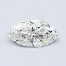 推薦鑽石 #4: 0.50 克拉欖尖形切割