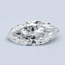 0.51-Carat Marquise Diamond Very Good E IF