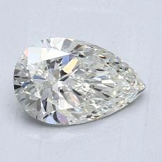 1.01-Carat Pear Diamond Very Good J SI1