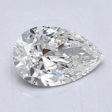 1.03 Carat 梨形 Diamond 非常好 G IF