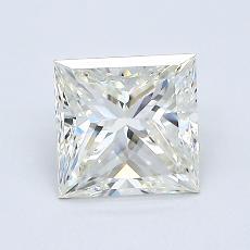 1.01 Carat 公主方形 Diamond 非常好 J VVS1