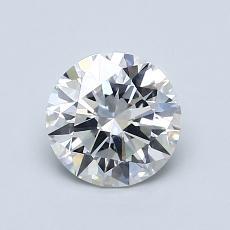 1,01 Carat Rond Diamond Idéale G SI1