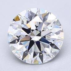 Recommended Stone #4: 2.43-Carat Round Cut