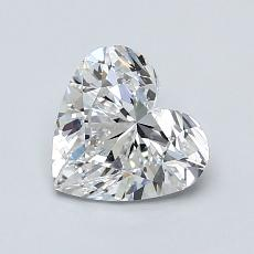 Recommended Stone #1: 1.03-Carat Heart Shaped