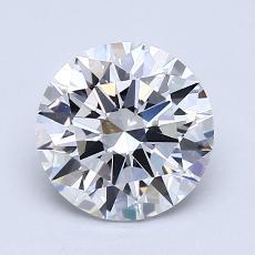 推薦鑽石 #3: 1.58  克拉圓形切割