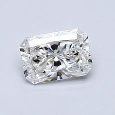0,80 Carat Radiant Diamond Très bonne F VS2