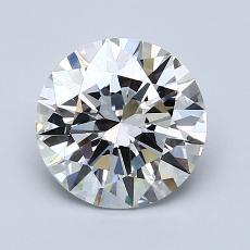 1.50 Carat 圓形 Diamond 理想 G VVS2