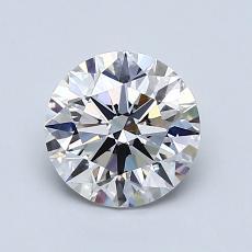 推荐宝石 3:1.09 克拉圆形切割