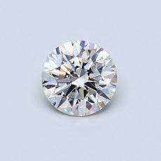 推薦鑽石 #2: 0.50  克拉圓形切割