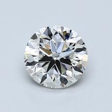 1,01 Carat Rond Diamond Bonne I SI1