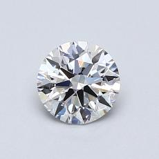 Recommended Stone #4: 0,64-Carat Round Cut