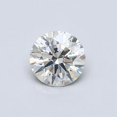 推薦鑽石 #4: 0.54  克拉圓形切割