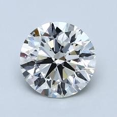 Recommended Stone #3: 1.40-Carat Round Cut