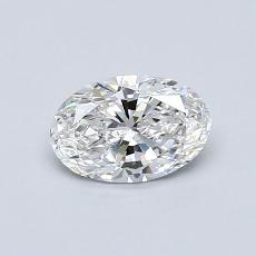 推荐宝石 3:0.59 克拉椭圆形切割