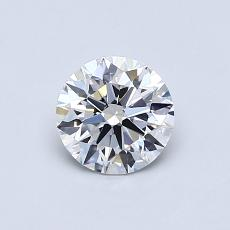 Recommended Stone #4: 0.63-Carat Round Cut