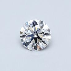 Recommended Stone #2: 0,41-Carat Round Cut