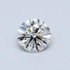推薦鑽石 #2: 0.56  克拉圓形切割