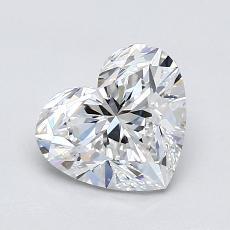 Piedra recomendada 3: Forma de corazón de 1.09 quilates