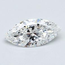 Recommended Stone #1: 0,56-Carat Marquise Cut