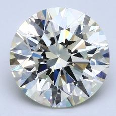 Recommended Stone #2: 3.99-Carat Round Cut