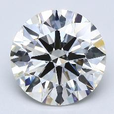 Recommended Stone #3: 4,09-Carat Round Cut