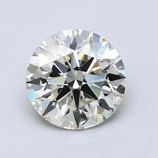Piedra recomendada 2: Talla redonda de 1.25 quilates