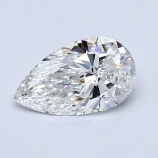 Recommended Stone #4: 0.80-Carat Pear Shaped