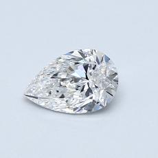 Recommended Stone #1: 0,50-Carat Pear Shaped