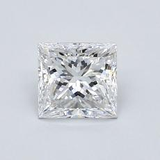 Recommended Stone #1: 0.81-Carat Princess Cut