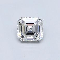 Piedra recomendada 4: Diamante de talla Asscher de 0.51 quilates