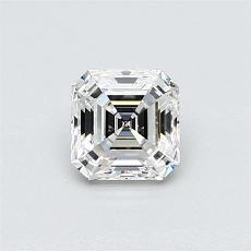 Piedra recomendada 2: Diamante de talla Asscher de 0.56 quilates