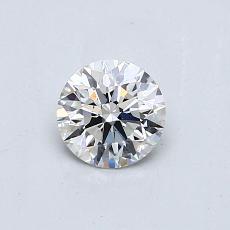 0.51-Carat Round Diamond Ideal G VS2
