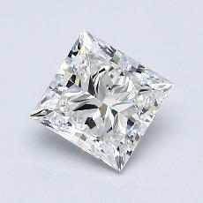 推荐宝石 4:0.90 克拉公主方型切割