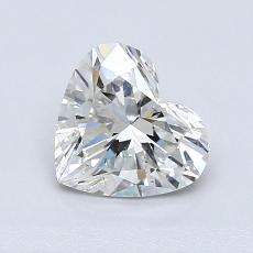 1,05-Carat Heart Diamond Very Good G SI2