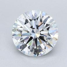Recommended Stone #1: 3,08-Carat Round Cut