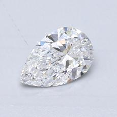 Recommended Stone #4: 0.56-Carat Pear Cut Diamond