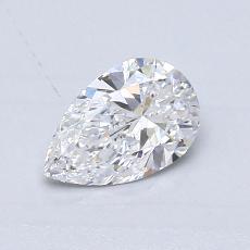 Pierre recommandée n°4: Diamant taille poire 0,56carats