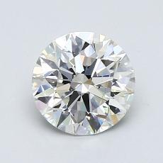Pierre recommandée n°3: Diamant taille ronde 1,27 carat